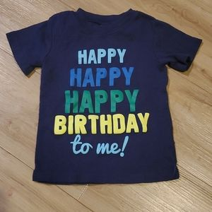 🏷3 for$10 2t blue Happy Birthday shirt by Cater's
